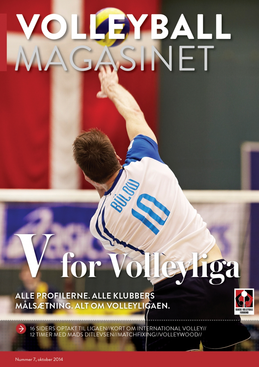 Ny utgave av Volleyball Magasinet