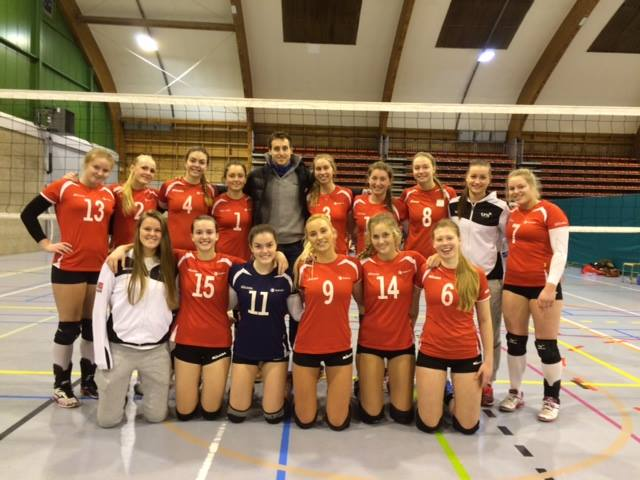 Toppvolley i Belgia