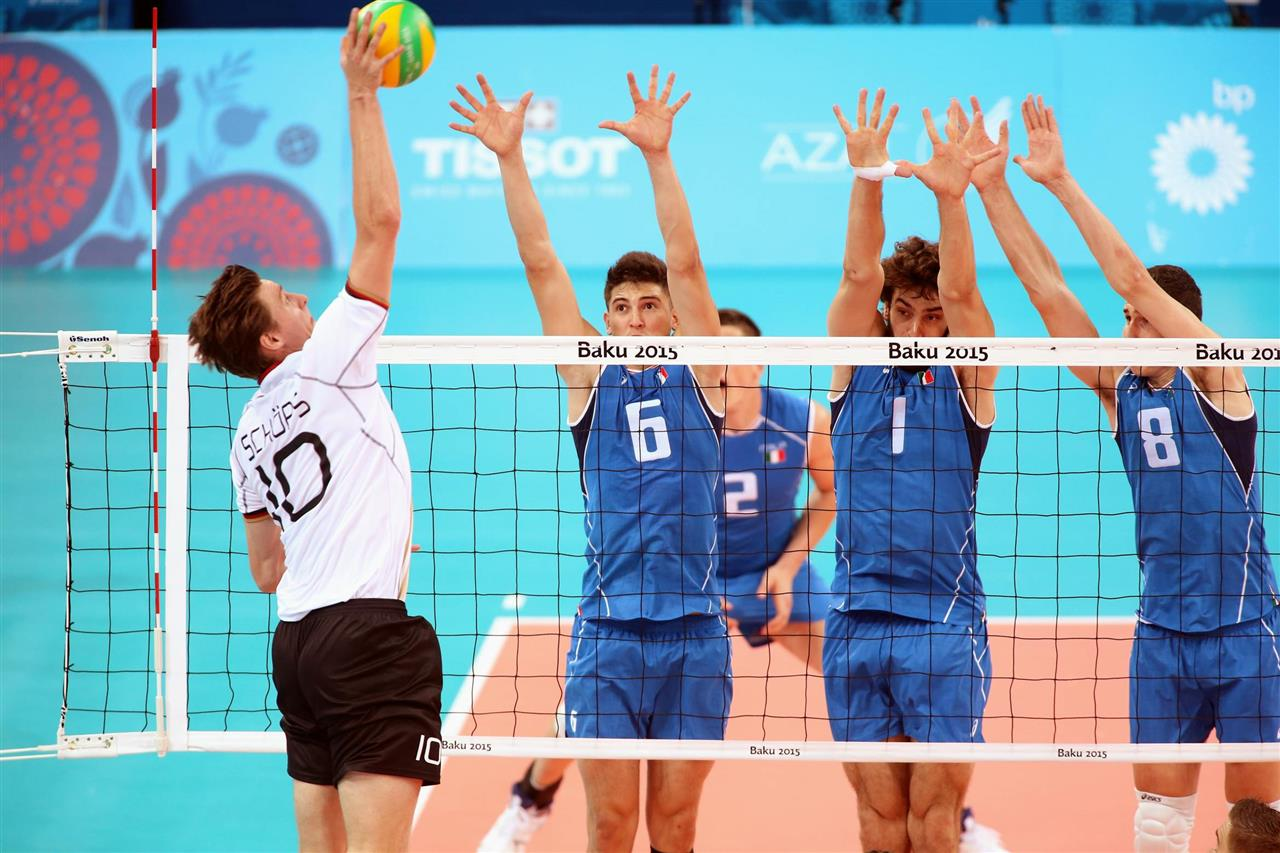 Volleyball i European Games