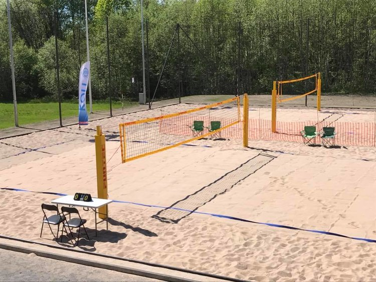 Sandvolleyball-NM for de yngre
