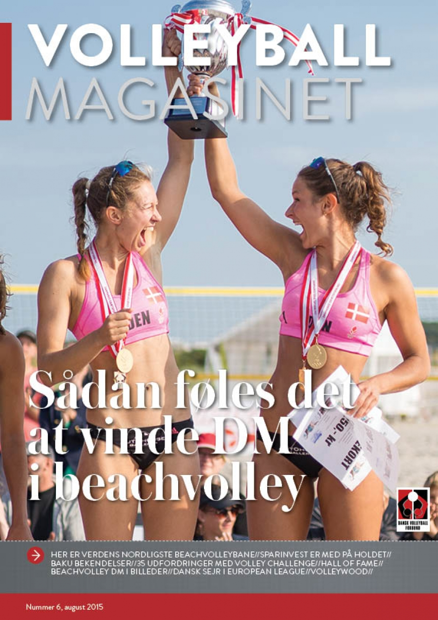 Volleyball Magasinet august